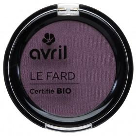 Avril Fard à paupières bio Prune irisé 2,5g