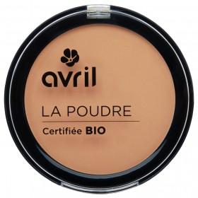 Avril Poudre Compacte doré Bio