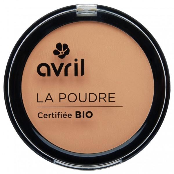 Avril Poudre Compact doré Bio