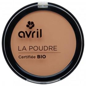 Avril Poudre Compact Abricot Bio