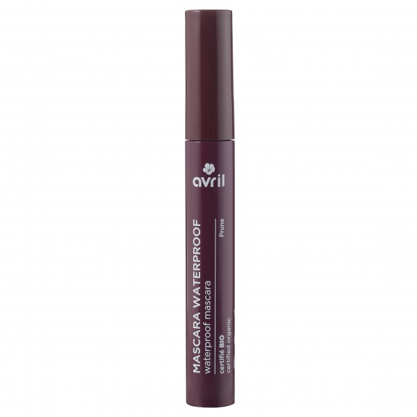 Mascara Avril Waterproof bio prune ultra longue tenue 10ml