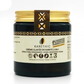 Crème Glacée de karité 2 en 1 hydra déodorante Karéthic 100ml