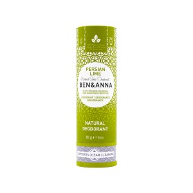 Déodorant Stick Persian Lime tube en carton Ben & Anna 60g
