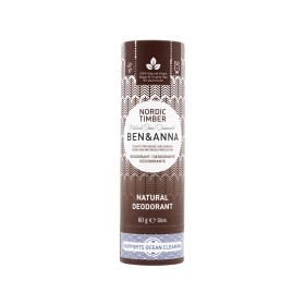 Déodorant Stick Nordic Timber tube en carton Ben & Anna 60g