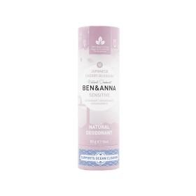 Déodorant Stick Sensitive Japanese Cherry Blossom tube en carton Ben & Anna 60g