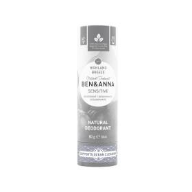 Déodorant Stick Sensitive Highland Breeze tube en carton Ben & Anna 60g