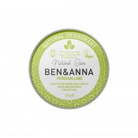 Crème Déodorante Persian Lime en pot Ben & Anna 45g