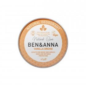Crème déodorante Vanilla Orchid en pot Ben & Anna 45g