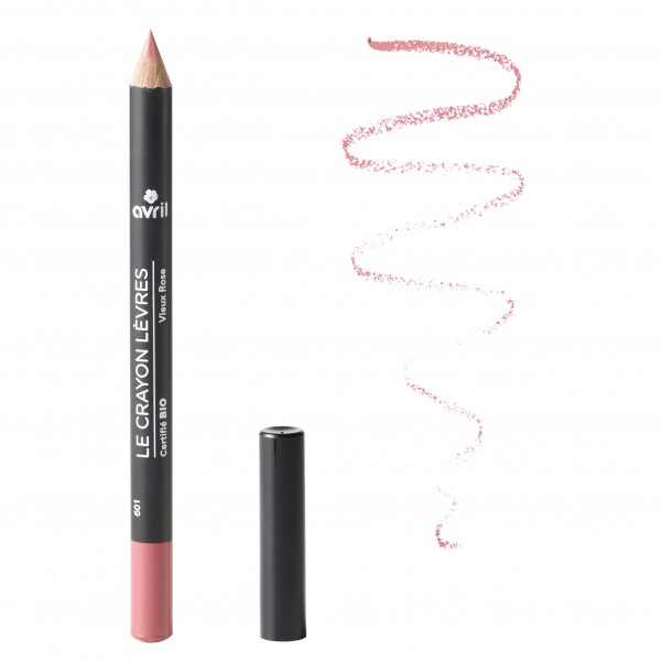 Avril Crayon à lèvre Vieux Rose Bio