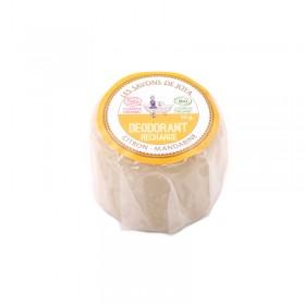 Recharge Déodorant solide Citron et Mandarine Les savons de Joya 50g