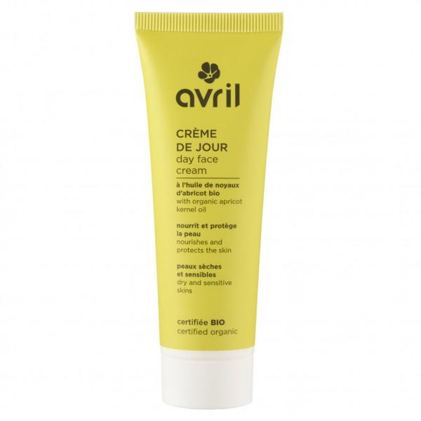 Avril Crème de jour Bio peaux sèches et sensibles