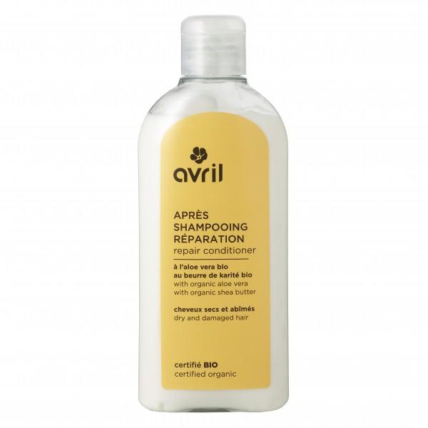 Apres-shampoing cheveux secs et abimés bio Avril 200ml