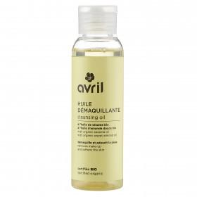 Huile démaquillante Avril à l'huile de sésame et amande douce bio 100ml