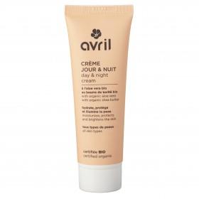 Crème jour et nuit Bio Avril tous types de peaux même sensibles 50ml