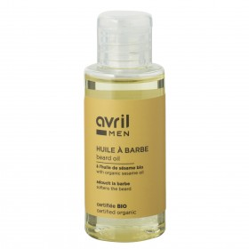 Huile à barbe Avril MEN Bio 50ml