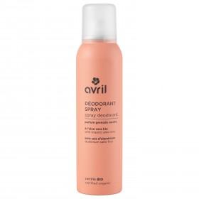 Déodorant spray Bio Avril 150ml parfum grenade sucré