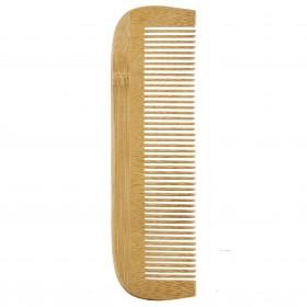 Peigne en bois de bambou simple Avril