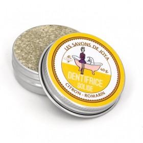 Dentifrice solide à la citron romarin les savons de Joya 40g