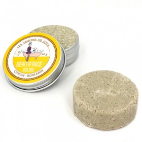Recharge Dentifrice solide à la citron romarin les savons de Joya 40g