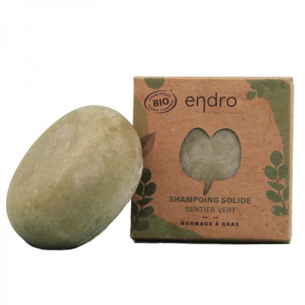 Shampoing solide Sentier vert Endro 100g