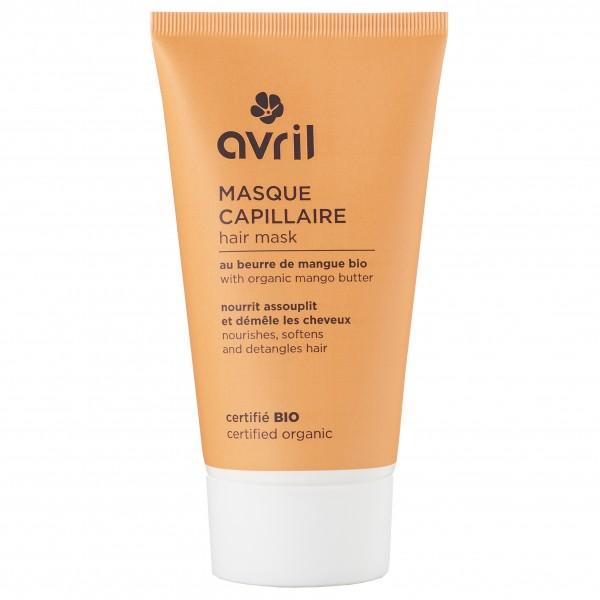 Le masque capillaire bio au beurre de mangue Avril 150ml