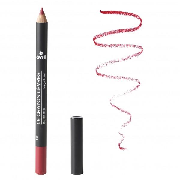 Avril Crayon à lèvre Rouge Franc Bio