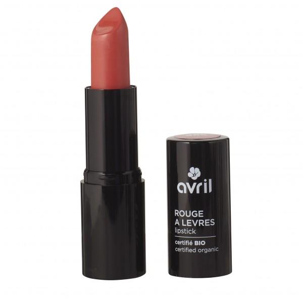 Avril Rouge à lèvres Corail bio N°596