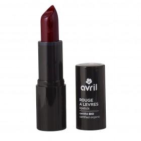 Avril Rouge à lèvres cerise burlat bio N°602