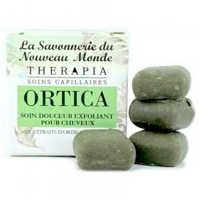 Ortica, soin douceur exfoliant pour cheveux La savonnerie du nouveau monde