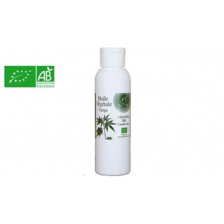Huile végétale de chanvre Bio 125ml Algovital