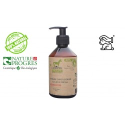 Savon liquide peau acnéique 40% lait d'ânesse bio