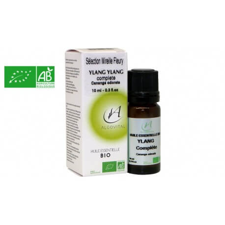 Huile essentielle bio Ylang-ylang AB 10ml