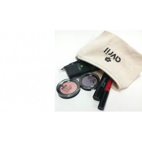 Trousse de maquillage Coton bio Avril