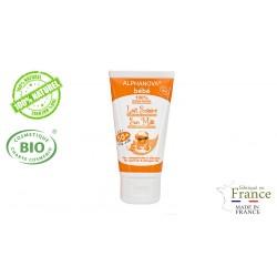 Crème protection solaire bio bébé très haute protection SPF 50+ Alphanova Sun 50g