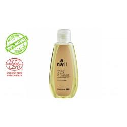 Huile de massage et bain Avril à l'huile d'argan bio
