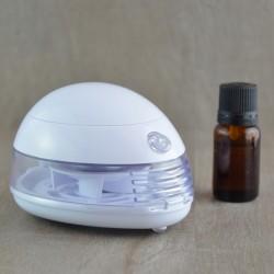 Diffuseur d'huiles essentielles So Nice par ventilation Blanc