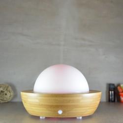 Diffuseur ultrasonique Belisia bambou et verre