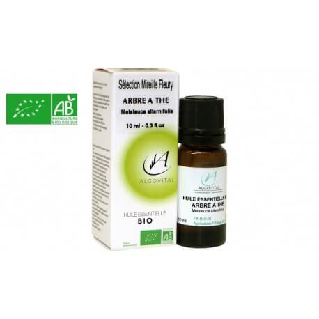 Huile essentielle bio arbre à thé tea tree AB 10ml Algovital