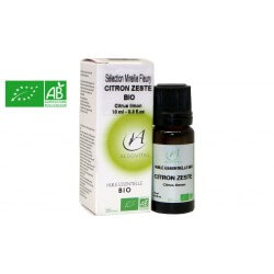 Huile essentielle bio Citron zeste AB 10ml Algovital