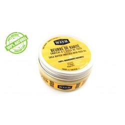 Beurre de karité Yuzu WAAM 100% pure et végétale 100ml
