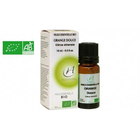 Huile essentielle bio Orange douce AB 10ml Algovital