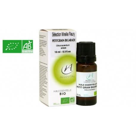 Huile essentielle bio Petit grain orange amère AB 10ml Algovital