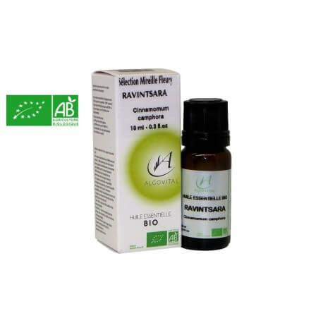 Huile essentielle bio Ravintsara AB 10ml Algovital