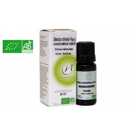 Huile essentielle bio Mandarine verte AB 10ml Algovital