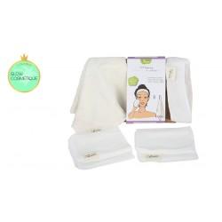 Kit layering les tendances d'emma bandeau, gants et serviette