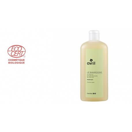 Shampoing Bio Avril usage purifiant pour cheveux gras 250ml