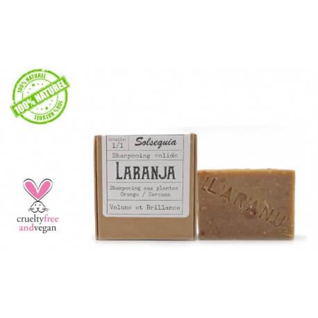 Shampooing solide LARANJA Solséquia 100g