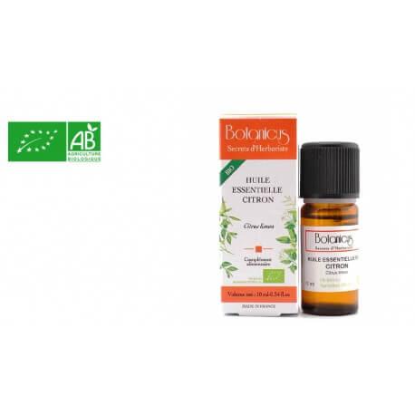 Huile essentielle bio Citron zeste Botanicus AB 10ml