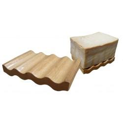 Porte savon en bois d'hêtre