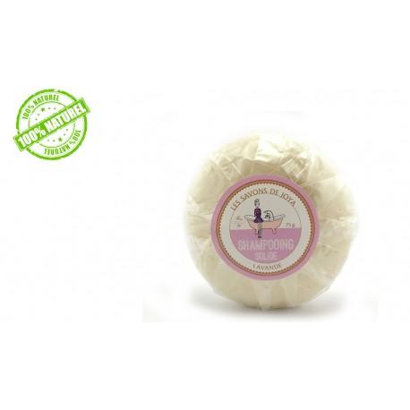Shampoing solide à l'huile essentielle de lavande Les savons de Joya 75g